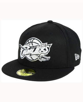 New Era Cleveland Cavaliers Black White 59FIFTY Cap