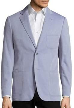 Corneliani Long Sleeve Cotton Jacket