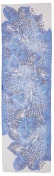St. John Women's Lotus Blossom Print Silk Scarf