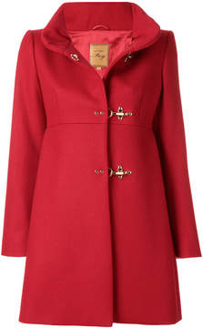 Fay stand up collar duffle coat