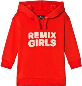 Little Remix Red Slogan Hoodie