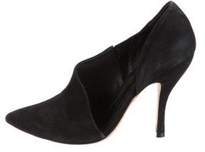 Alice + Olivia Pointed-Toe d'Orsay Booties