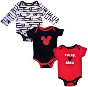 Disney Disney's Mickey Mouse Baby Boy 3-pc. I'm All Ears Bodysuit Set