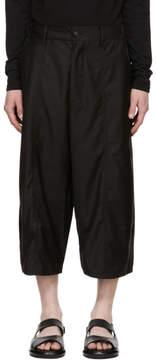 D.gnak By Kang.d Black Side Long Shorts