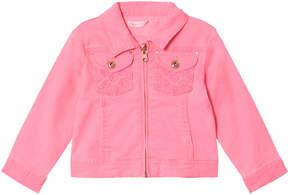 Billieblush Fuchsia Pink Denim Jacket