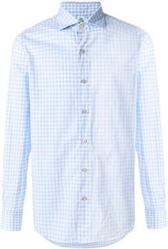 Finamore 1925 Napoli checked classic shirt