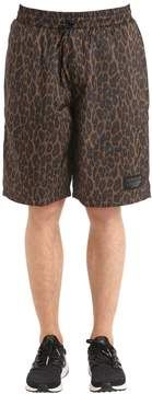 Nmd Aop Leopard Print Insulated Shorts