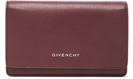 Givenchy Pandora Chain Wallet in Red.