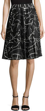 Ava & Aiden Women's Pleated Midi Skirt