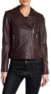 Andrew Marc Genuine Leather Moto Jacket