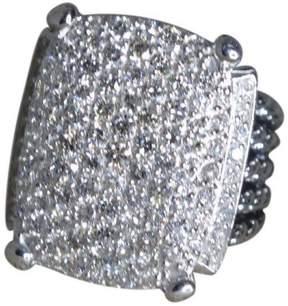 David Yurman 925 Sterling Silver with Diamond Ring Size 6
