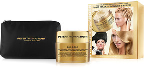 Peter Thomas Roth 24K Gold Pure Luxury Age-Defying Hair Mask & Bonnet