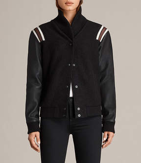AllSaints Bordin Striped Jacket