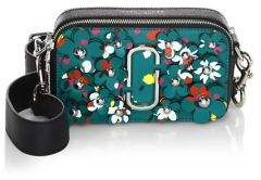 Marc Jacobs Daisy Snapshot Splatter Paint Leather Camera Bag
