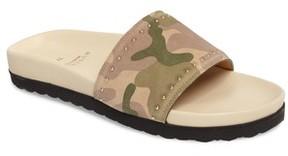Buscemi Women's Camo Slide Sandal