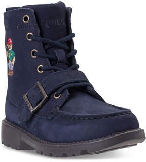 Polo Ralph Lauren Little Boys' Ranger High Ii Bear Boots from Finish Line