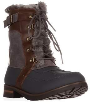 Rock & Candy Danlea Mid-calf Winter Boots, Gray.