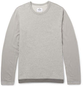 Reigning Champ Drawstring-Hem Stretch-Jersey Sweatshirt