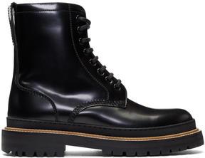 Burberry Black William Boots
