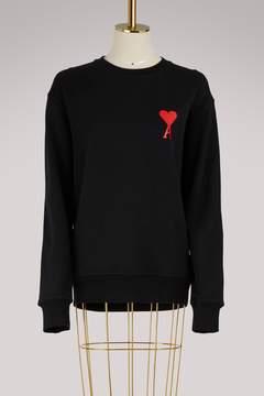 Ami Cotton heart sweatshirt