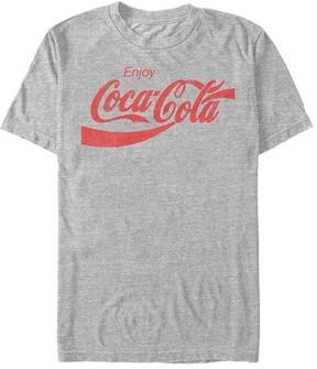 Fifth Sun Athletic Heather 'Enjoy Coca-Cola' Logo Tee - Men