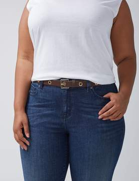 Lane Bryant Narrow Belt with Grommets
