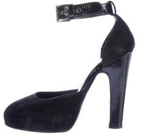 Philosophy di Alberta Ferretti d'Orsay Ankle Strap Pumps