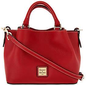 Dooney & Bourke Pebble Leather Mini Barlow Crossbody Handbag