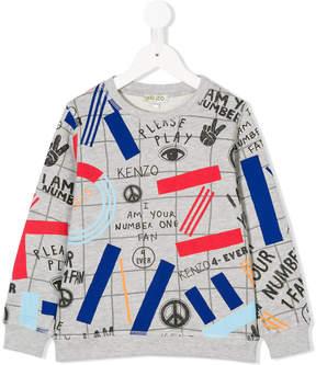 Kenzo printed sweatshirt