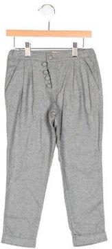Emile et Ida Girls' Pleated Straight-Leg Pants w/ Tags
