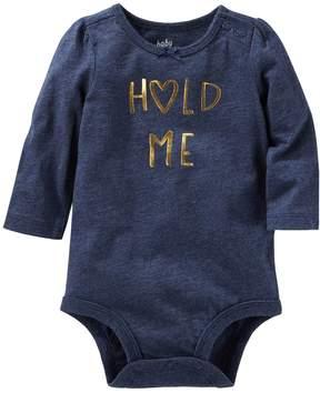 Osh Kosh Oshkosh Bgosh Baby Girl Hold Me Bodysuit