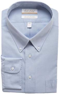 Roundtree & Yorke Gold Label Big & Tall Non-Iron Full-Fit Button-Down Collar Solid Dress Shirt