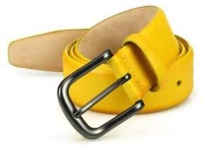 Saks Fifth Avenue COLLECTION Hives Burnished Leather Belt