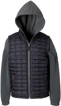 iXtreme Tonal Print Vest with Sleeves - Boys Big Kid