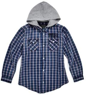 GUESS Boy's Plaid Shirt (7-18)