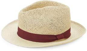 Saks Fifth Avenue Men's Contrast Patterned Fedora Hat