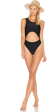 Baja East Cut Out One Piece