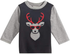 First Impressions Moose-Print T-Shirt, Baby Boys (0-24 months), Created for Macy's