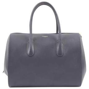 Nina Ricci Navy Leather Handbag