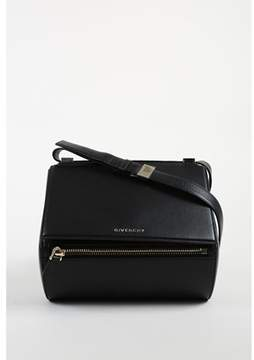 Givenchy Pre-owned Black veau Grained Calfskin Gold Tone medium Box Bag.