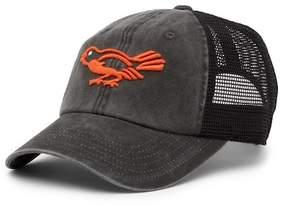 American Needle Baltimore Orioles Raglan Bones Mesh Baseball Cap