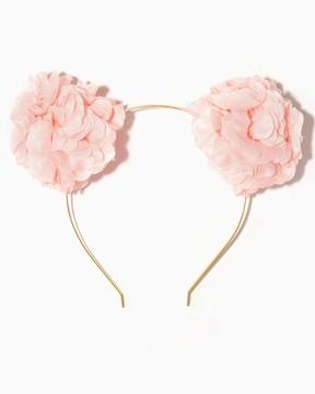 Petal Pom Pom Headband