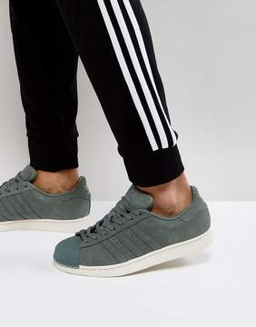 adidas Superstar Sneakers In Green BZ0200