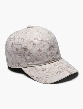 Lucky Brand WEST COAST MAP BASEBALL HAT