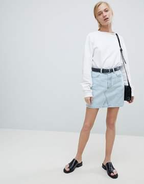 Dr. Denim Denim Mini Skirt
