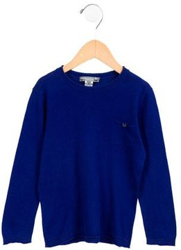 Bonpoint Boys' Knit Linen-Blend Sweater