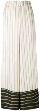 Antonio Marras contrast striped trousers