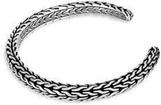 John Hardy Classic Sterling Silver Cuff Bracelet