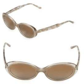 Vera Wang 51MM Oval Sunglasses