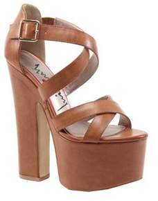 Luichiny Women's Jaw Dropper Platform Sandal.